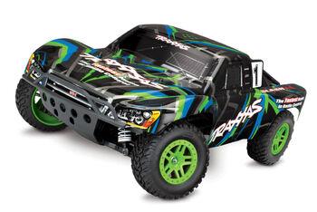 Радиоуправляемая машина Traxxas Slash 4x4 1:10 Зеленый