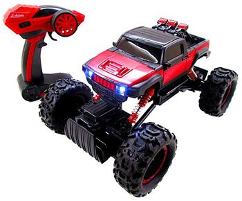 Радиоуправляемый краулер Rock Crawler HuangBo Toys 4WD RTR 2.4G
