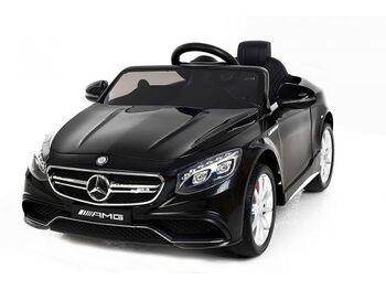 Электромобиль Mercedes-Benz S63 AMG 12V цвет черный