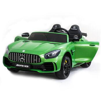 Электромобиль Harley Bella Mercedes-Benz GT R 4x4 MP3 - HL289-MATTE-GREEN-4WD
