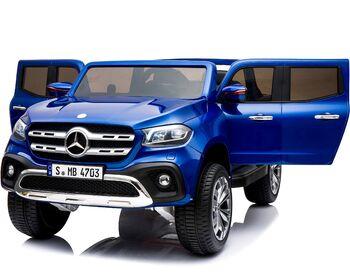 Электромобиль Mercedes-Benz X-Class 4WD - XMX606-BLUE-PAINT