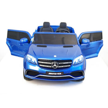 Электромобиль Mercedes Benz GLS63 LUXURY 4x4 12V 2.4G - Blue - HL228-LUX