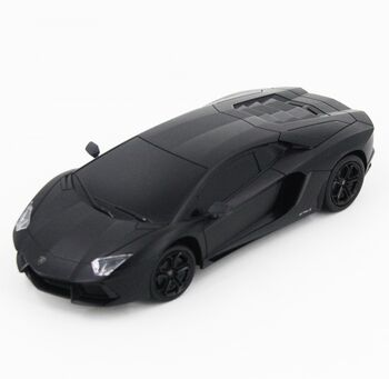 Радиоуправляемая машина MZ Lamborghini Aventador Черный цвет 1:24 - 27021-B