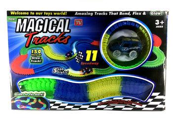 Трек детский гибкий Magic Tracks 150 деталей