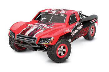 Радиоуправляемая машина TRAXXAS Slash 1:16 4WD TQ Fast Charger Red