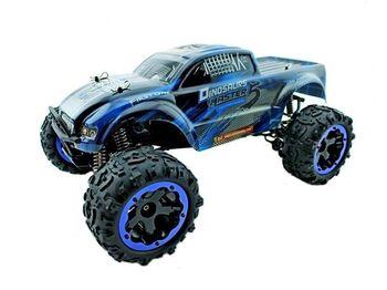 Радиоуправляемый монстр Remo Hobby Dinosaurs Master Brushless (синий) 4WD 2.4G 1/8 RTR