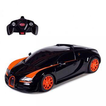 Машинка на радиоуправлении RASTAR Bugatti Veyron Grand Sport Vitesse 1:18 цвет черный