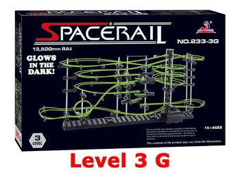 Конструктор Space Rail серия Glow In The Dark 3 уровень