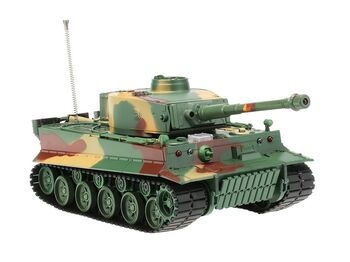 Радиоуправляемый танк Heng Long 1/26 Tiger I ИК-версия, пульт MHz, RTR