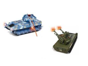 Радиоуправляемый танковый бой Double Eagle Fighting Tanks (2 танка для совместной игры)