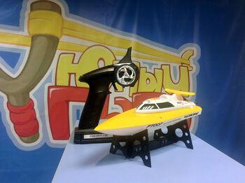 Радиоуправляемый катер Fei Lun Speed Vitality FT007 желтый