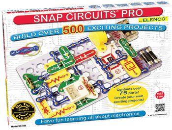Электронный конструктор Snap Circuits Pro 500 опытов