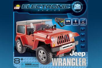 Конструктор COBI Jeep Wrangler Bluetooth
