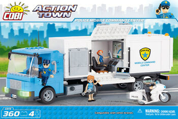 Конструктор COBI Police Mobile Command Center
