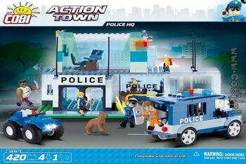 Конструктор COBI Police HQ