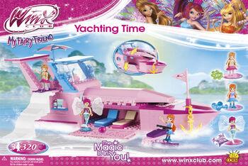Пластиковый конструктор COBI Winx Yachting Time