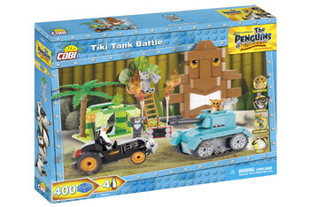 Пластиковый конструктор COBI Tiki Tank Battle