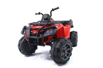 Электроквадроцикл Grizzly Next Red 4WD с пультом управления 2.4G - BDM0909