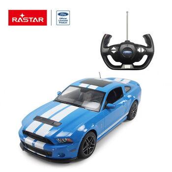 Машина Rastar 49400 Ford Shelby GT500 1:14 Цвет Синий