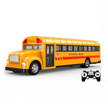 Радиоуправляемый школьный автобус Double E 1:18 2.4G - E626-003