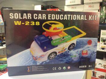 Электронный конструктор SMART Electronic Kit Solar Car W-238