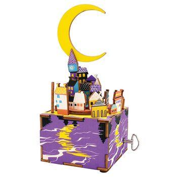 Деревянный 3D конструктор - музыкальная шкатулка Robotime Midsummer Night's Dream - AM306