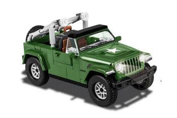 Конструктор COBI-24095 Jeep Wrangler Military