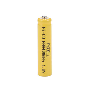 Аккумулятор Ni-Cd AAA 1.2v 400mah Button Top (1 шт)