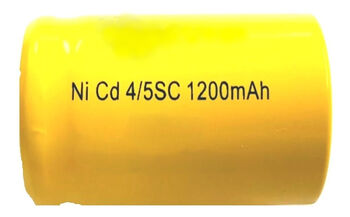 Аккумулятор Ni-Cd 4/5 SC 1.2v 1200mah Flat Top (1 шт)
