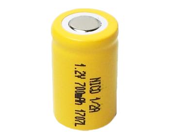 Аккумулятор Ni-Cd 1/2 A 1.2v 700mah (1 шт)