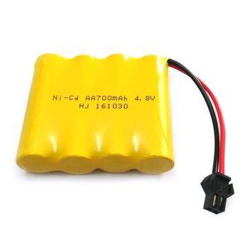 Аккумулятор Ni-Cd AA 4.8v 700mah форма Twinstick разъем UNI PLUG