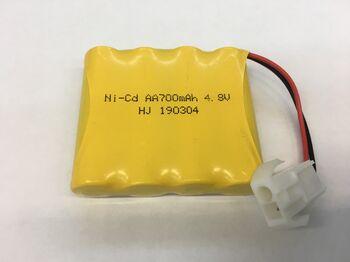 Аккумулятор Ni-Cd AA 4.8v 700mah форма Flatpack разъем EL2P