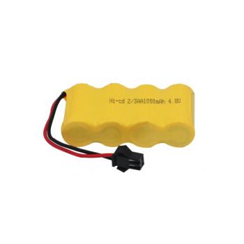 Аккумулятор Ni-Cd 4.8V 1000 mAh 2/3AA - 23AA-1000-YP