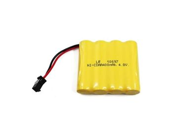 Аккумулятор Ni-Cd AA 4.8v 400mah форма Flatpack разъем YP