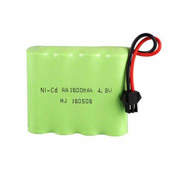 Аккумулятор Ni-Cd AA 4.8v 1800mah форма Flatpack разъем YP