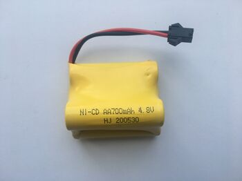 Аккумулятор Ni-Cd AA 4.8v 700mah форма Offset разъем YP