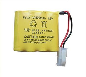Аккумулятор Ni-Cd 4.8v 400mah форма Flatpack разъем 5559-2P