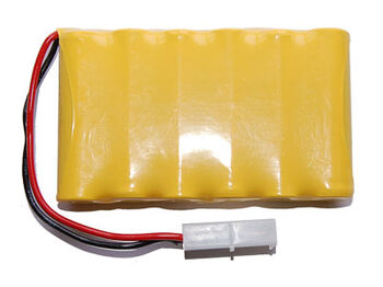 Аккумулятор Ni-Cd 6v 400mah форма Flatpack разъем Tamiya