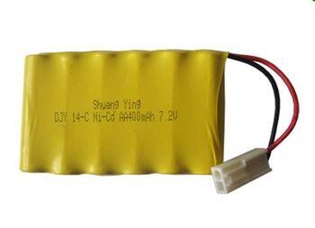 Аккумулятор Ni-Cd 7.2v 400mah форма Flatpack разъем EL-2P