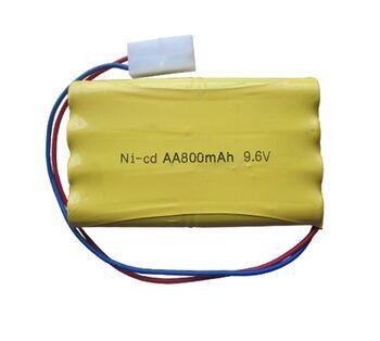 Аккумулятор Ni-Cd 9.6v 800mah форма Column-Row разъем Tamiya