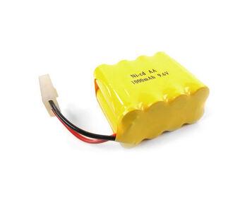 Аккумулятор Ni-Cd 9.6v 800mah форма Row разъем Tamiya