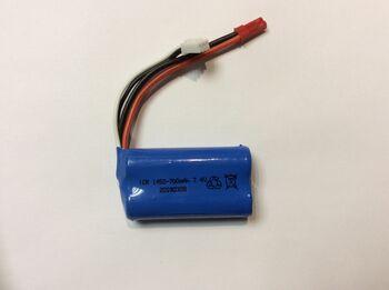 Аккумулятор Li-Ion 14500 7.4v 700mah ICR разъем JST