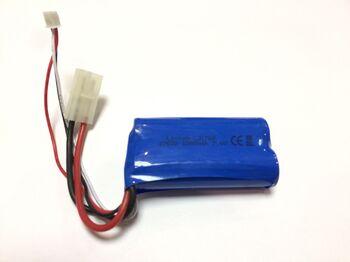Аккумулятор Li-Ion 18650 1500mAh 7.4V разъем Tamiya