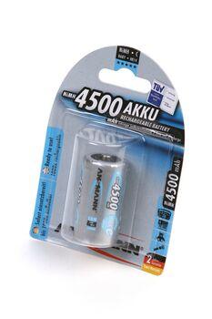 Аккумуляторная батарейка ANSMANN C R14 4500 mAh (1шт)