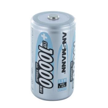 Аккумуляторная батарейка ANSMANN D R20 10000 mAh (1шт)