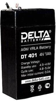 Аккумулятор Pb DELTA 4V 1000 mAh DT 401