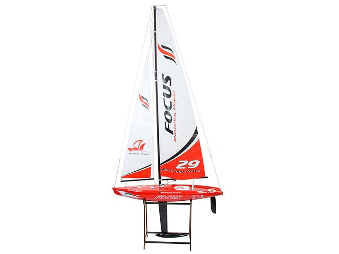 Радиоуправляемая яхта Joysway Red Focus 2.4G RTR