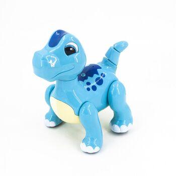 Радиоуправляемый интерактивный синий робот динозавр (Ангийская версия) - 2056A