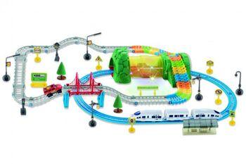 Железная дорога+Автотрек Huan Nuo 3631Y