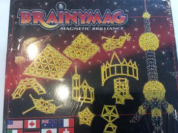 Магнитный конструктор Bornimago серия Classic ML-240C BrainyMag (240 дет.)